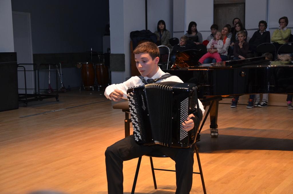 Концерт МБФ В.Т. Спивакова в CRR de Rueil-Malmaison, Франция